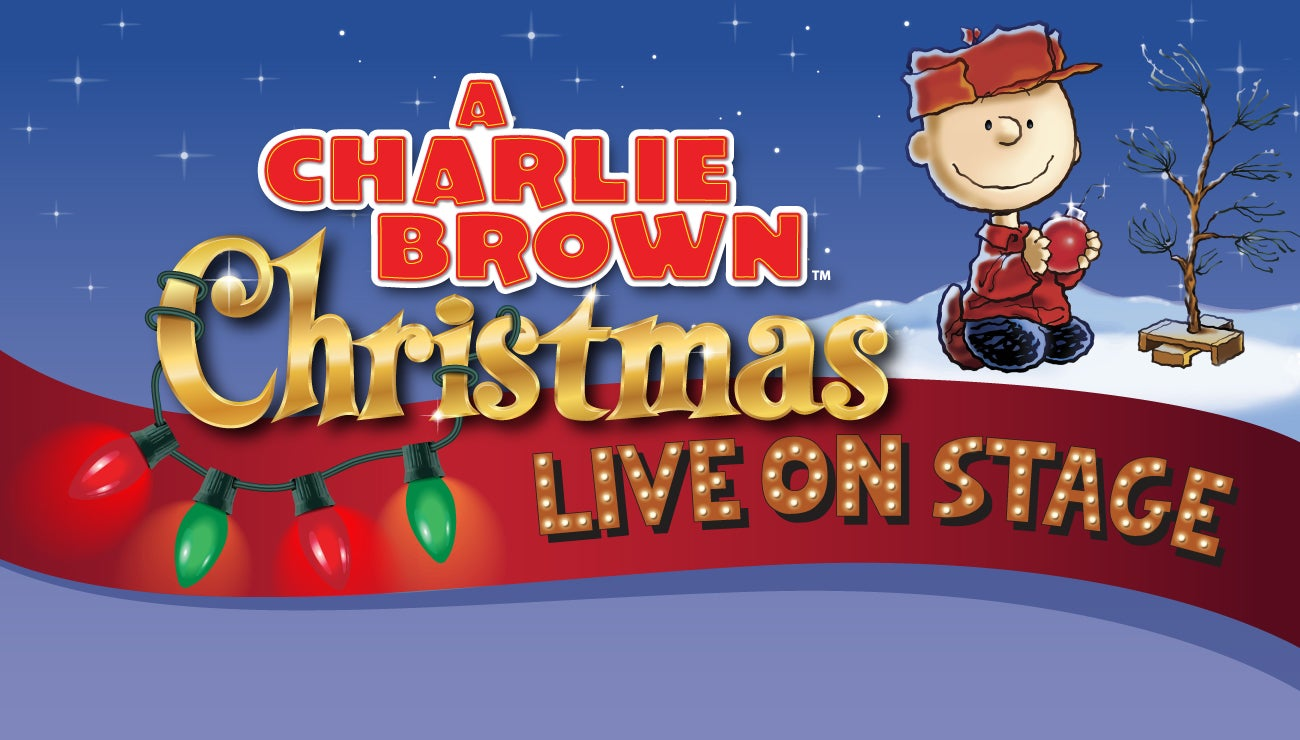 a charlie brown christmas live on stage - Peanuts Christmas Special