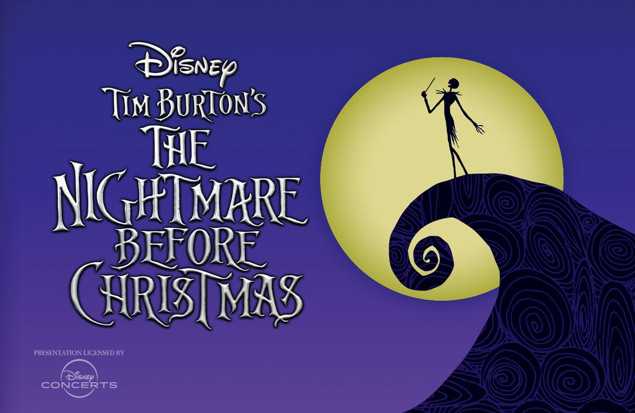THE NIGHTMARE BEFORE CHRISTMAS  Film with Live Orchestra