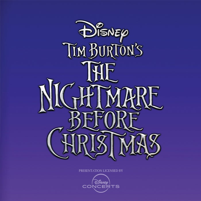 More Info for THE NIGHTMARE BEFORE CHRISTMAS  Film with Live Orchestra