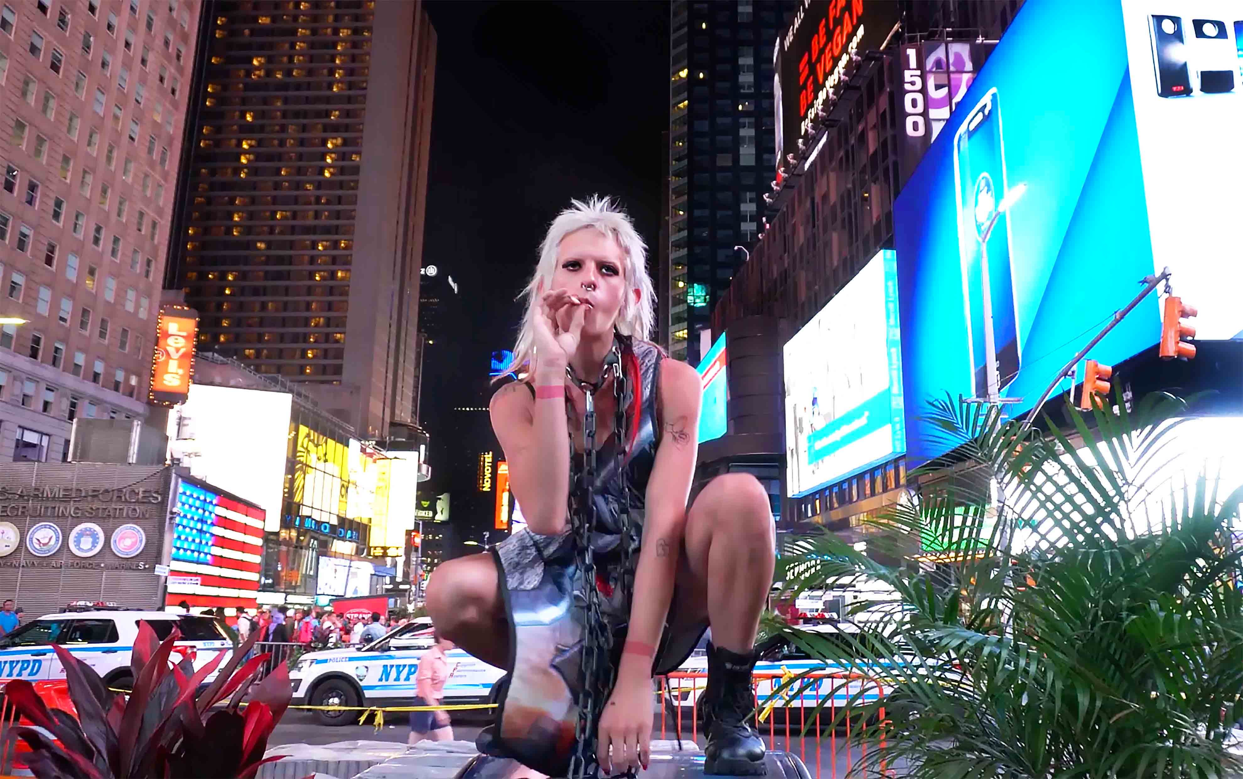 Rampleman, Rachel - LACTIC Incorporated, Times Square (Belle Darling), 2016, video still.jpg