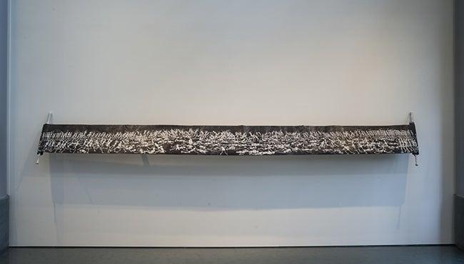 Rietenbach, Tim - Love, 2004, vellum, paint, marker, gouache, wooden scroll holders.jpg